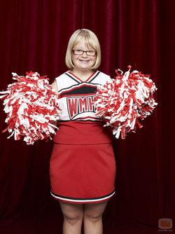 Lauren Potter es Becky en \'Glee\'