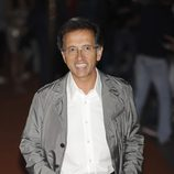 Jordi Hurtado de 'Saber y ganar' en la alfombra naranja del FesTVal de Vitoria