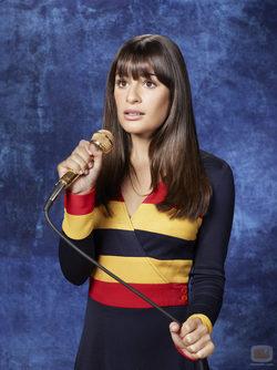 Lea Michele es Rachel en la tercera temporada de \'Glee\'