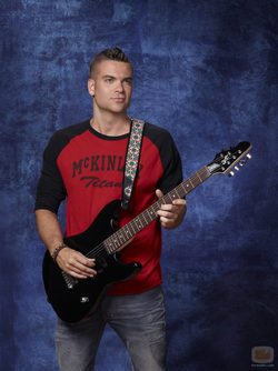 Mark Salling es Puck en la serie musical \'Glee\'