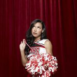 Naya Rivera en la tercera temporada de 'Glee'