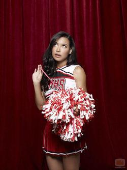Naya Rivera en la tercera temporada de \'Glee\'