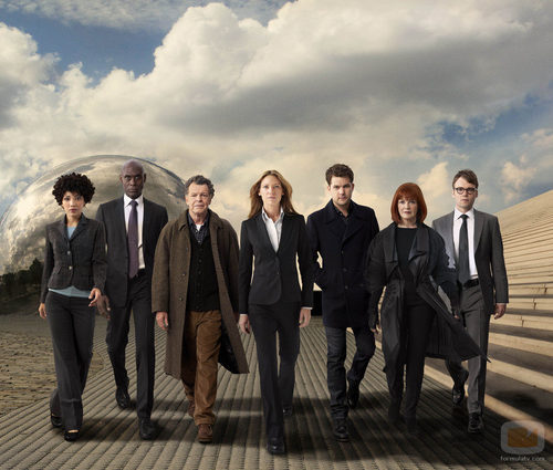 Los protagonistas de 'Fringe'