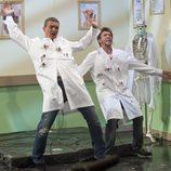 Antonio Banderas y Pablo Motos, disparados en 'El hormiguero'