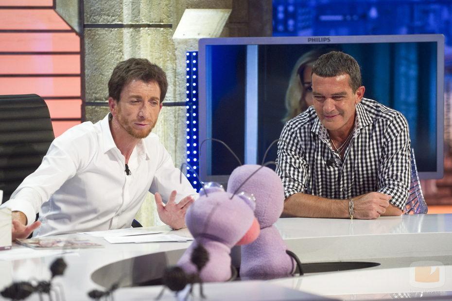 Trancas y Barrancas hablan con Antonio Banderas en 'El hormiguero'
