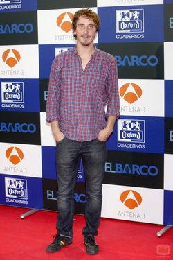 Iván Massagué posa en la presentación de la segunda temporada de \'El barco\'