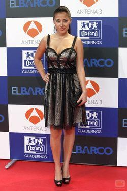 Giselle Calderón en la presentación de la segunda temporada de \'El barco\'
