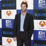 Juan Pablo Shuk, elegante en la presentación de la segunda temporada de 'El barco'