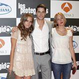 Ana Fernández, Luis Fernández y Natalia Rodríguez presentan la tercera temporada de 'Los protegidos'