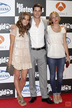 Ana Fernández, Luis Fernández y Natalia Rodríguez presentan la tercera temporada de \'Los protegidos\'
