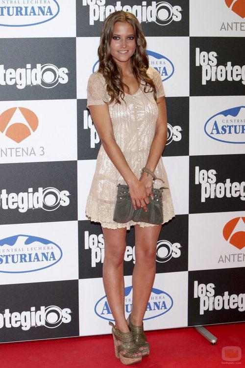 Ana Fernández en la premiere de la tercera temporada de 'Los protegidos'