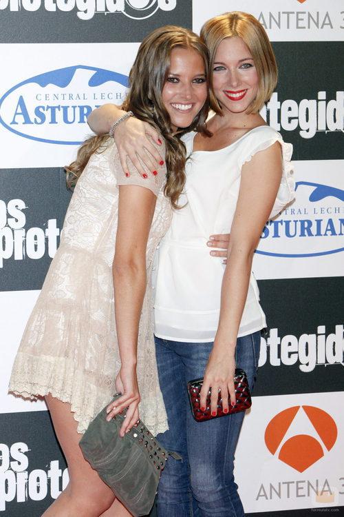 Ana Fernández junto a Natalia Rodríguez, la nueva incorporación de 'Los Protegidos'