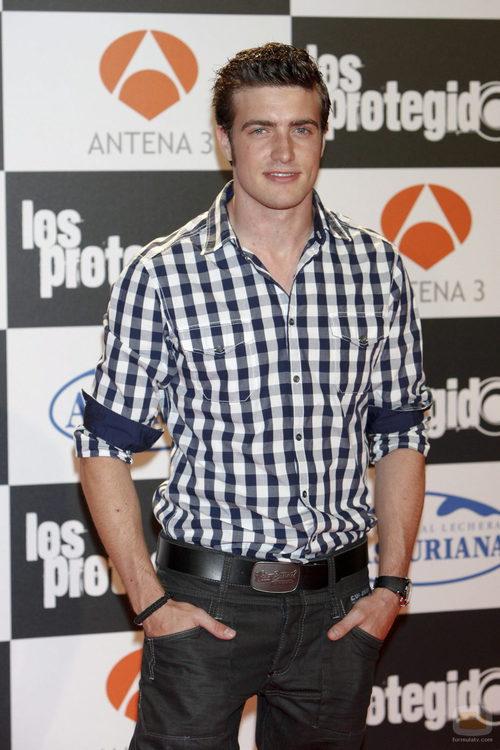 Raúl Merida interpreta a Leo en 'Los Protegidos'