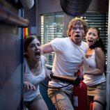 Vilma, Palomares y Estela gritan escandalizados en 'El barco'