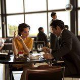 Lex Barker y Tita Cervera en la TV Movie de Telecinco