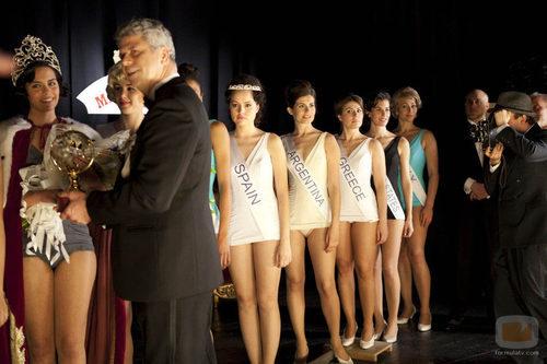 'Tita Cervera. La Baronesa' mostrará a Esmeralda Moya convertida en Miss España