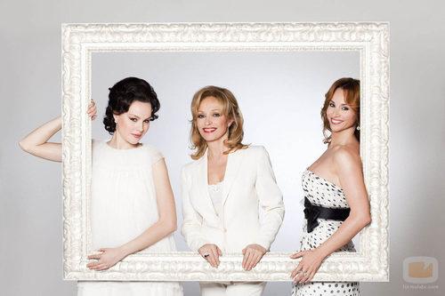 Esmeralda Moya, Mar Regueras y Silvia Tortosa son 'Tita Cervera. La Baronesa'