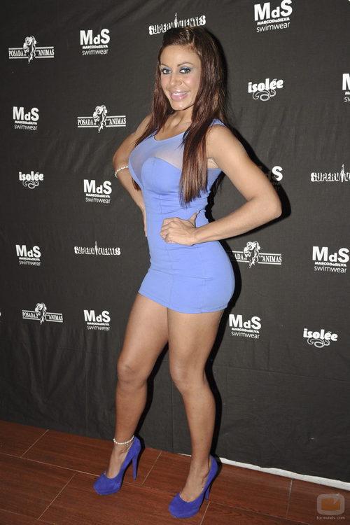 Tatiana Delgado, muy sexy en la fiesta de 'Supervivientes'