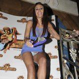 Tatiana Delgado se quita el vestido en una fiesta de 'Supervivientes'