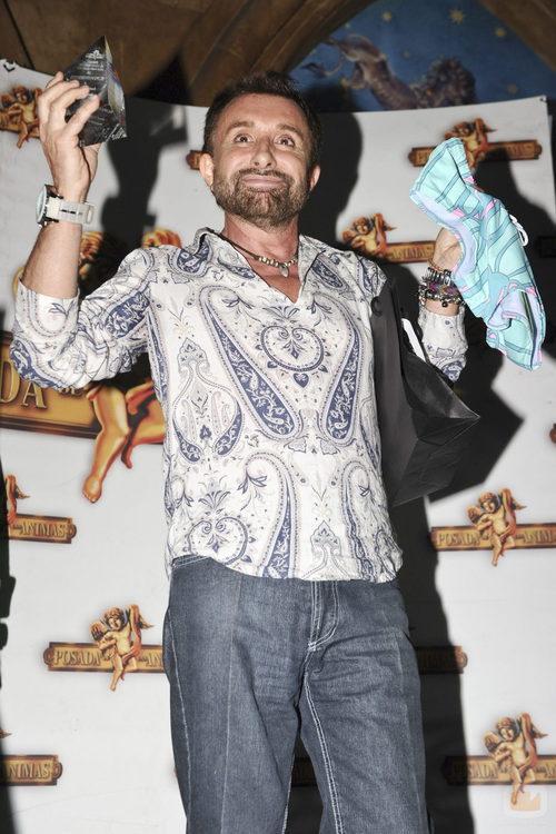 José Manuel Parada, premiado en la fiesta de 'Supervivientes'