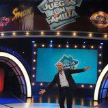 Emilio Pineda en 'Juegos en familia'