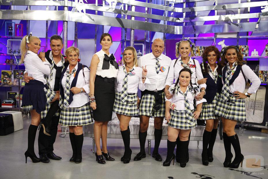 'Sálvame' celebra 600 programas en Telecinco