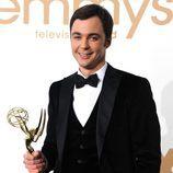 Jim Parsons repite como mejor actor de comedia en los Emmy 2011 por 'The Big Bang Theory'