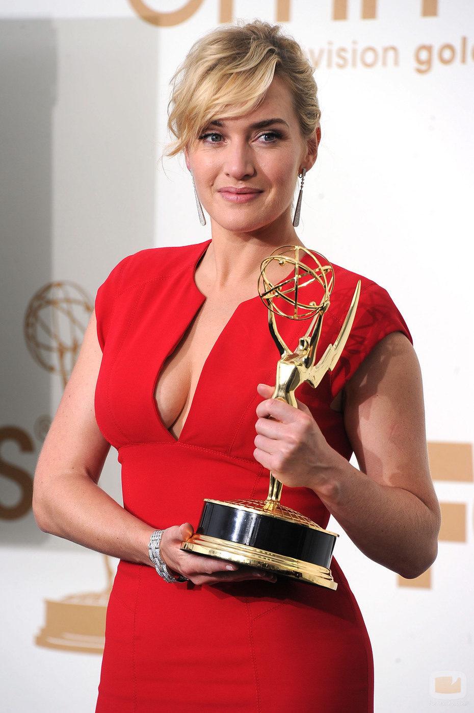 Kate Winslet, Mejor Actriz de Miniserie por 'Mildred Pierce' en los Emmy 2011
