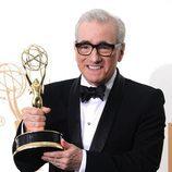 Martin Scorsese recoge el Emmy 2011 por su dirección en 'Boardwalk Empire'