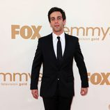 B.J. Novak de 'The Office' en los Emmy 2011