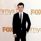 Chris Colfer de 'Glee' en los Emmy 2011
