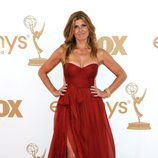 Connie Britton de 'Friday Night Lights' en la Alfombra Roja de los Emmy 2011