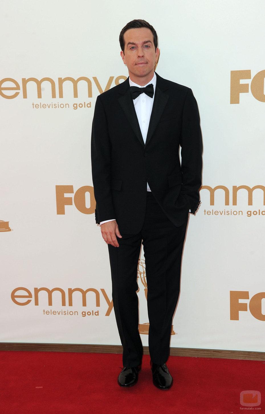 Ed Helms de 'The Office' en los Emmy 2011