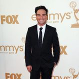 Johnny Galecki de 'The Big Bang Theory' en los Emmy 2011