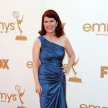 Kate Flannery de 'The Office' en la entrega de los Emmy 2011