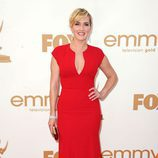Kate Winslet de 'Mildred Pierce' en los Emmy 2011