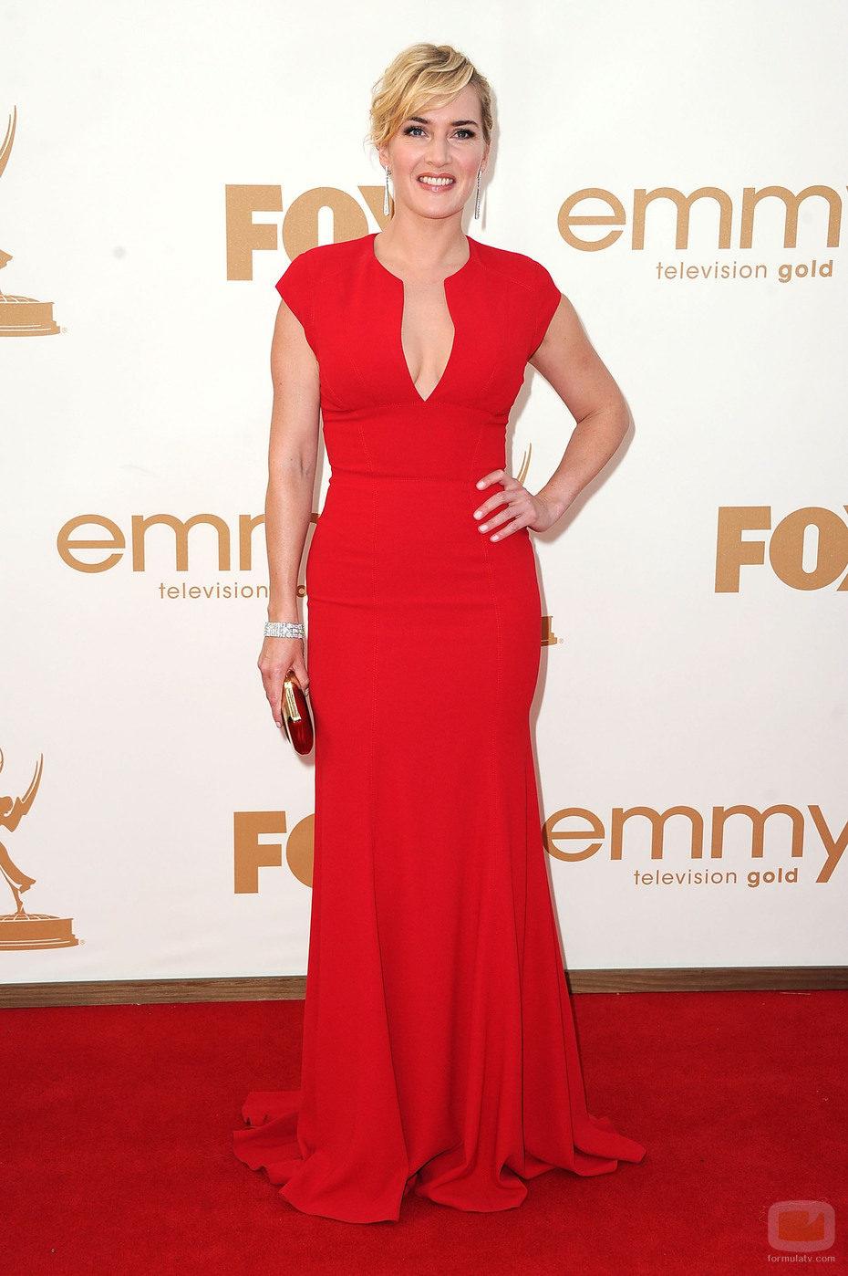 Kate Winslet de 'Mildred Pierce' en los Emmy 2011