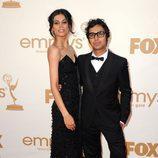 Kunal Nayyar en la gala de entrega de los Emmy 2011