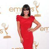 Lea Michele de 'Glee' en la Alfombra Roja de los Emmy 2011