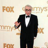 Martin Scorsese en los Emmy 2011