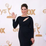Mayim Bialik de 'Blossom' y 'The Big Bang Theory' en los Emmy 2011