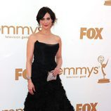 Michelle Forbes de 'The Killing' en los Emmy 2011
