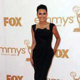 Naya Rivera de 'Glee' en los Emmy 2011