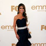 Paula Abdul, jueza de 'The X Factor', en los Emmy 2011