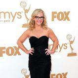 Rachael Harris en la Alfombra Roja de los Emmy 2011