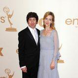 Simon Helberg de 'The Big Bang Theory' en los Emmy 2011