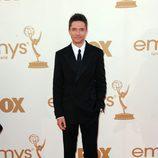 Topher Grace en la Alfombra Roja de los Emmy 2011