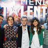 El equipo de 'Tienes Talento'