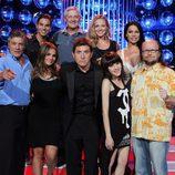 Manel Fuentes y los concursantes de 'Tu cara me suena'