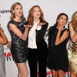 Las protagonistas de 'Mujeres Desesperadas' mandan besos a su fans